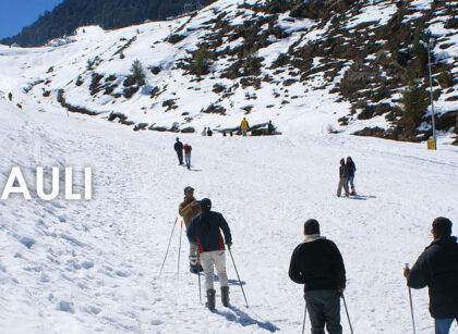 Auli-Uttarakhand